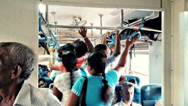 Zugfahrt Sri Lanka