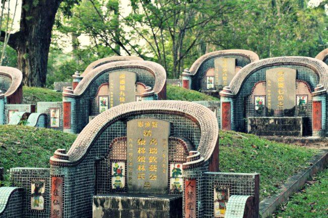 Chinesische Gräber Kuching