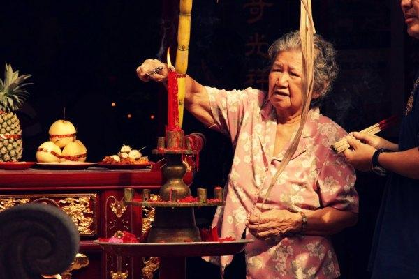 Chinesischer Tempel Penang