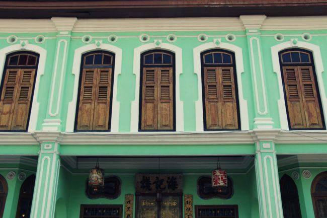 Chinesische Geschäftshäuser George Town