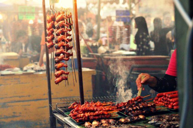 Essensmarkt Kota Kinabalu