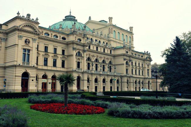 Theater in Krakau