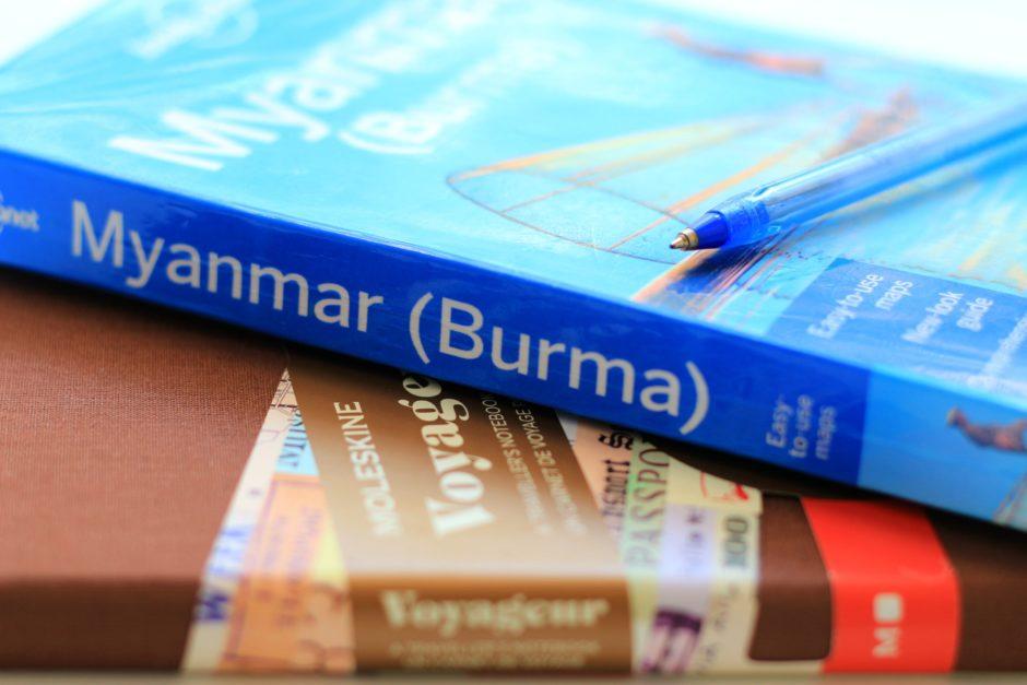 Reisevorbereitung Myanmar