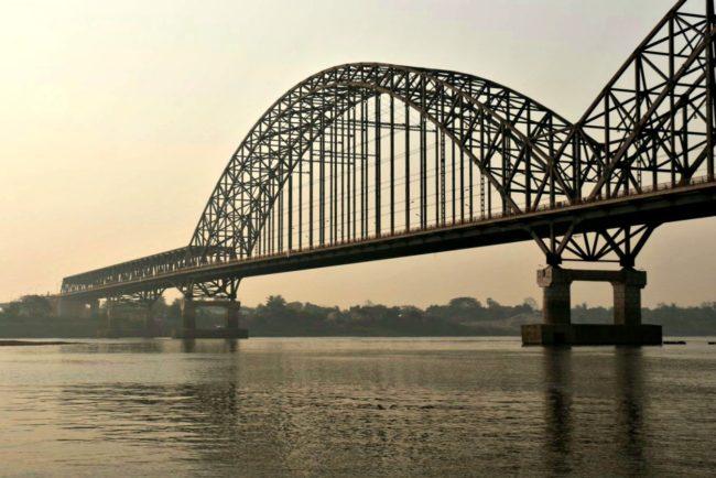 Yadanon-Brücke Mandalay