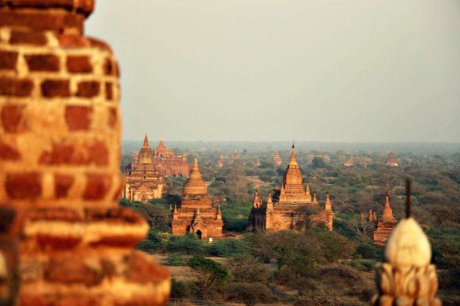 Sonnenuntergang Bagan