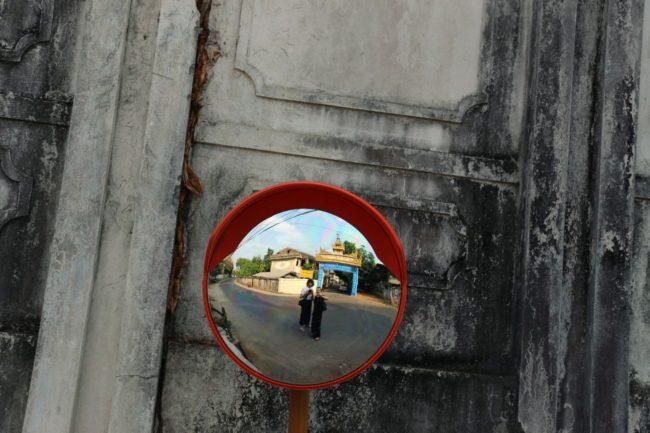 Umgebung der Chauk Htat Gyi Pagode