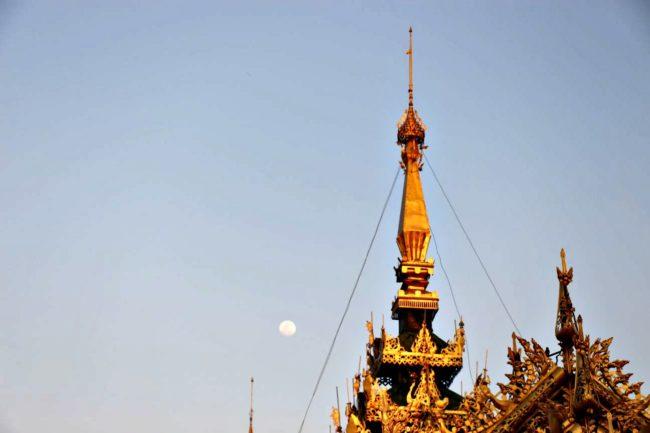 Sagaing goldene Pagode