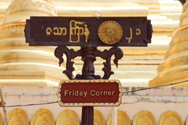 Friday Corner Shwedagon Pagode