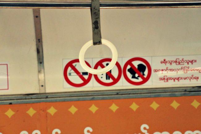 in der Circle Line Yangon