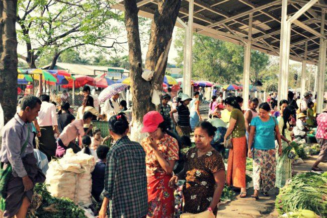 Bahnhof Myanmar