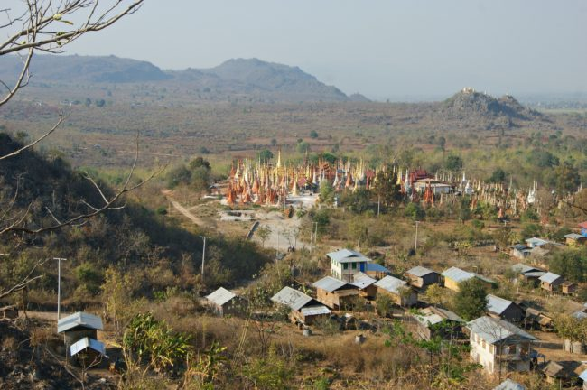 Shwe Indein Pagode