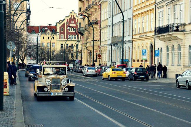 Straße Prag