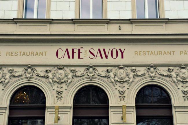 Café Savoy Fassade