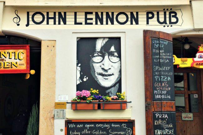 John Lennon Pub Prag