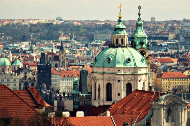 Aussicht Prager Burg