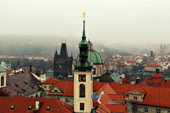 Klementinum Prag Aussicht
