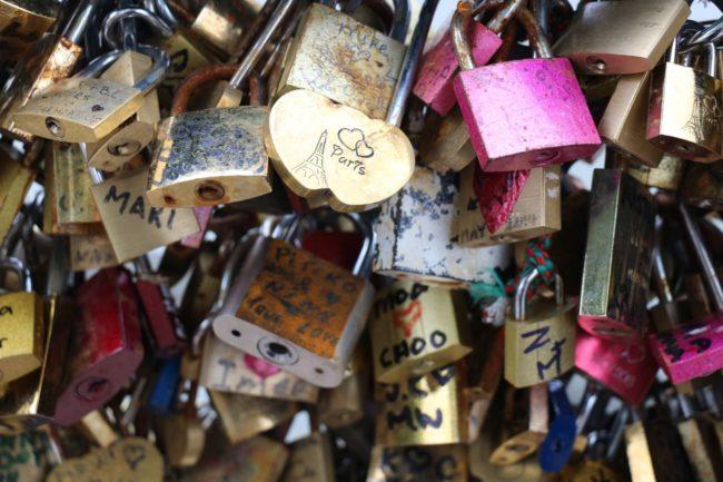 Liebesschlösser Paris