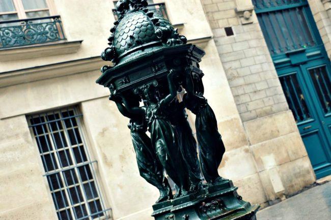 Trinkbrunnen Le Marais