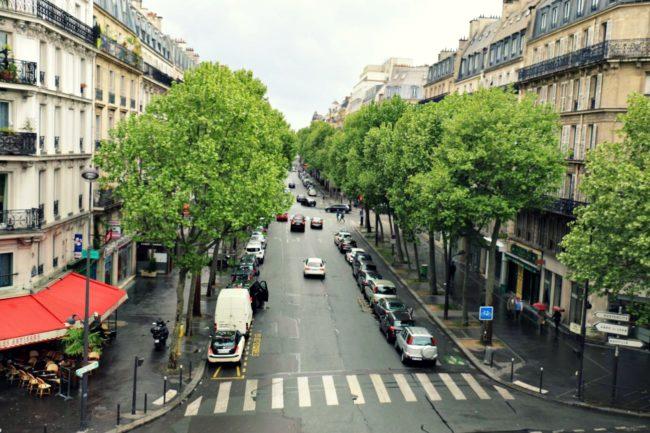 Aussicht von der Promenade Plantée