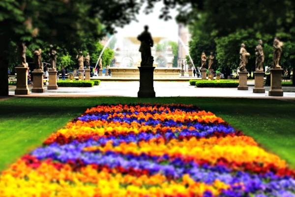 Ogród Saski Park Warschau