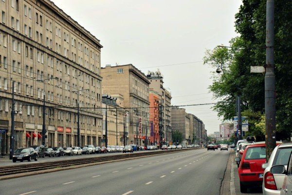 Al. Solidarnoski Warschau