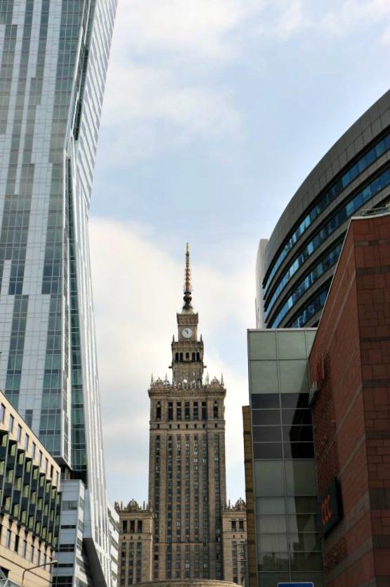 Wolkenkratzer Warschau
