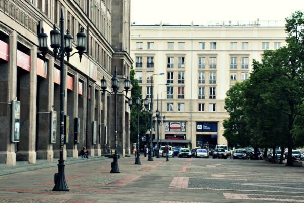 Ul. Marszałkowska Warschau