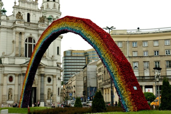 Regenbogen Warschau