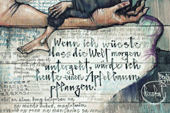 Herakut Mural Greifswalder Straße