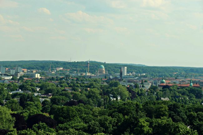 Aussicht Schloss Belvedere Potsdam