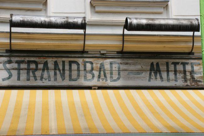 Strandbad Mitte Berlin