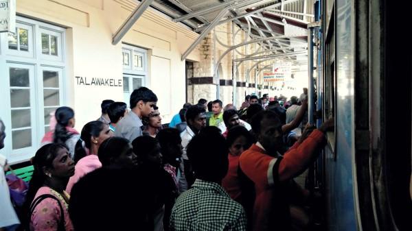 Bahnhof Sri Lanka