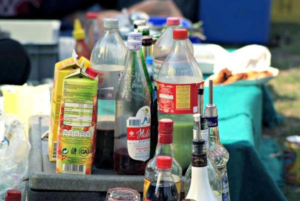 Cocktails auf der Thaiwiese im Berliner Preußenpark