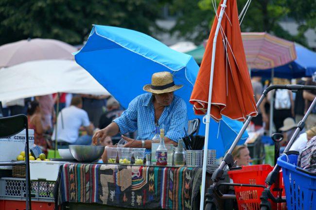 Cocktailverkauf Thaimarkt