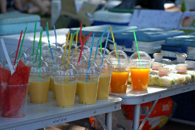 Melonen, Mango Lassi und weitere Getränke