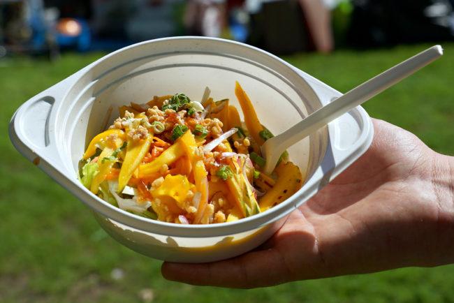 Ein leckerer Mango Salat
