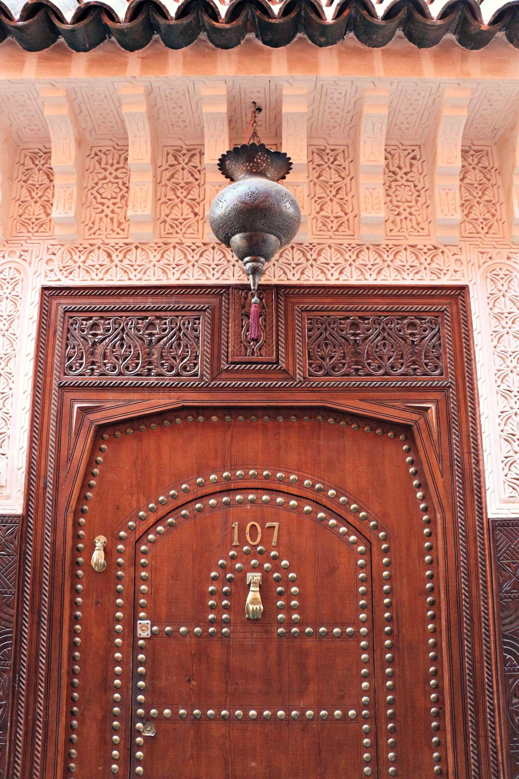 Tür Marrakesch