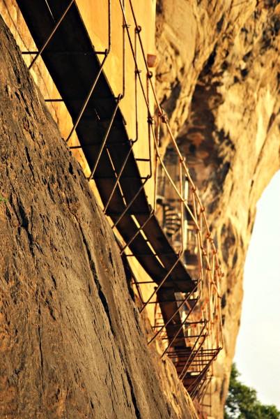 Treppe Sigiriya