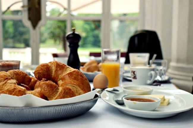 Palmenhaus Frühstück