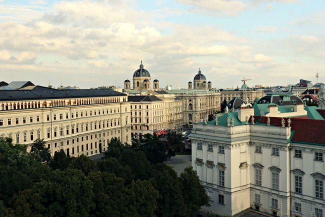 Aussicht Dachboden Wien
