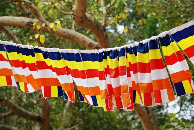buddhistische flagge