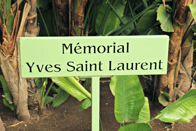 Yves Saint Laurent Memorial im Jardin Majorelle