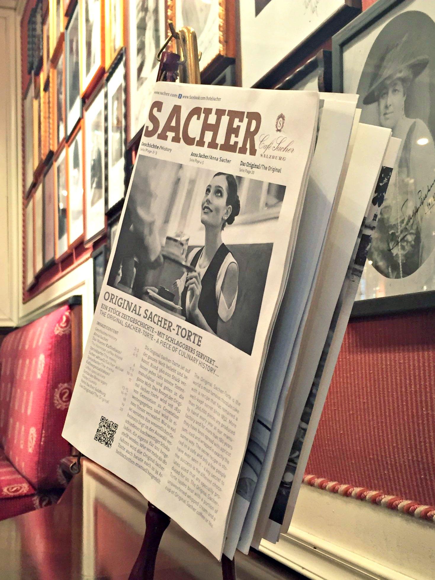Café Sacher Salzburg