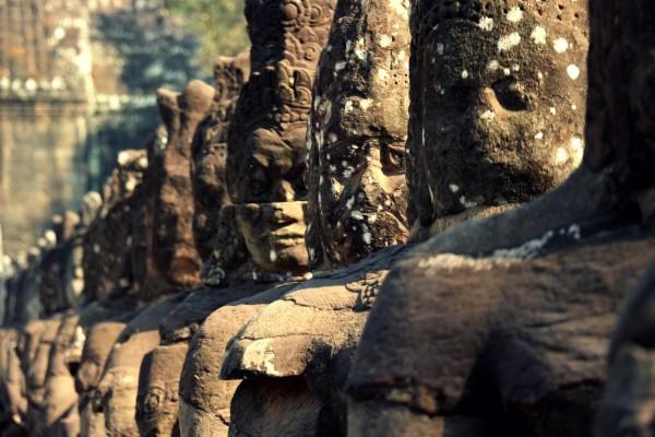 Angkor Brücke