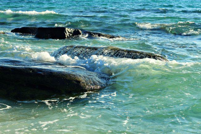 Wellen vor Koh Rong