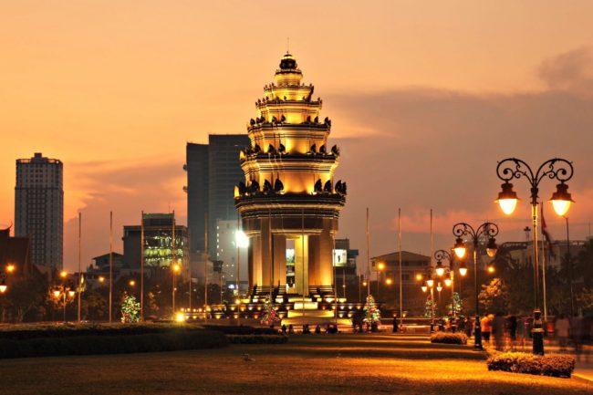 Unabhängigkeitsmonument in Phnom Penh