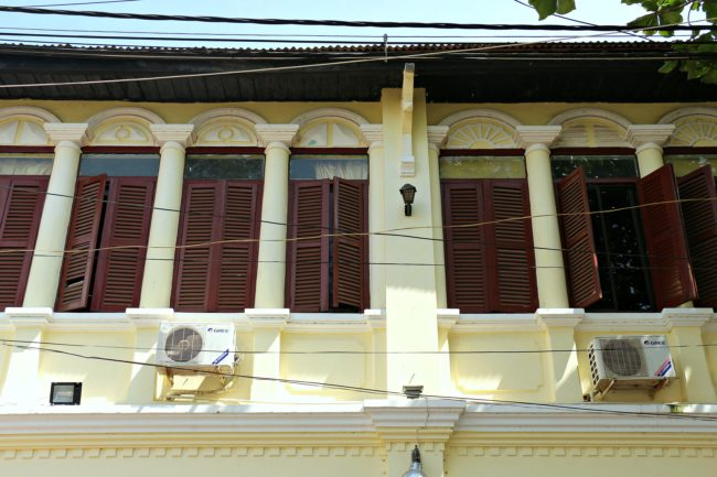 kolonialhäuser kampot