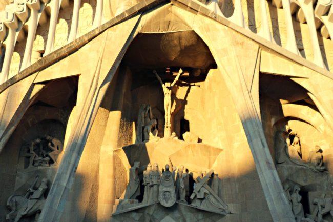 Fassade La Sagrada Familia