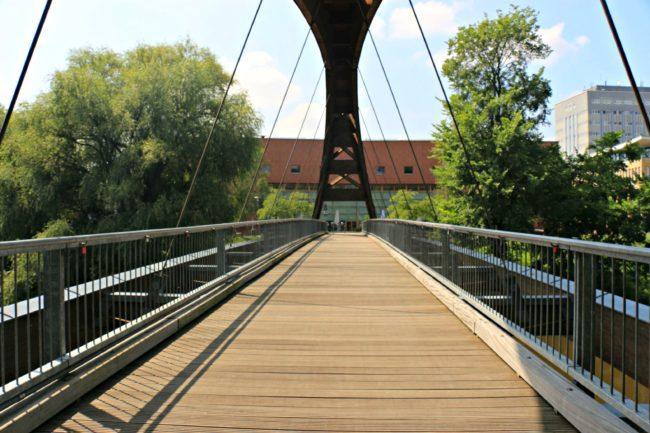 Brücke nach Ziegenwerder