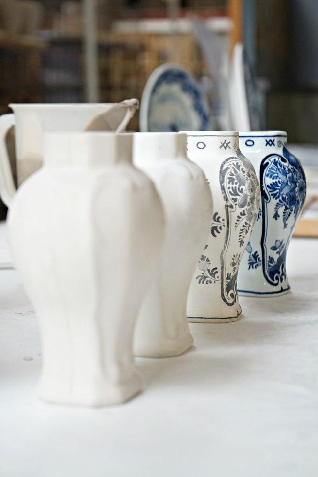 in der Keramikmanufaktur Royal Delft